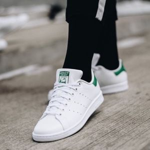 Adidas Stan Smith Originals Green White Sneakers